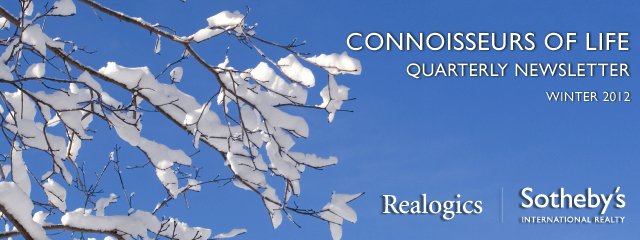 Realogics Sotheby's International Realty - WINTER Newsletter 2012