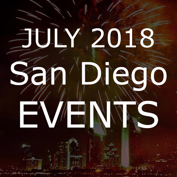 July San Diego Events