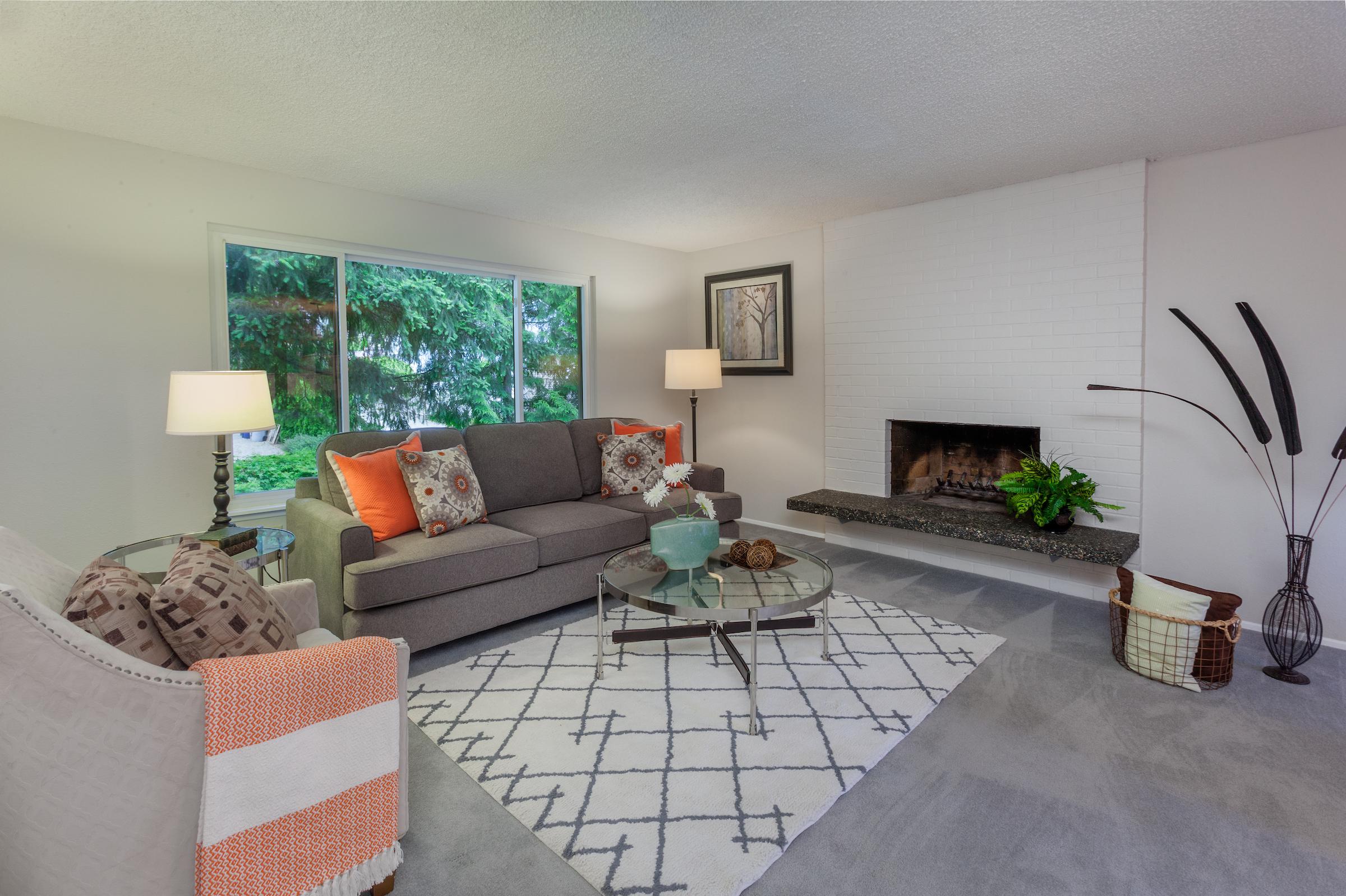 Living Room - Renton, Washington USA